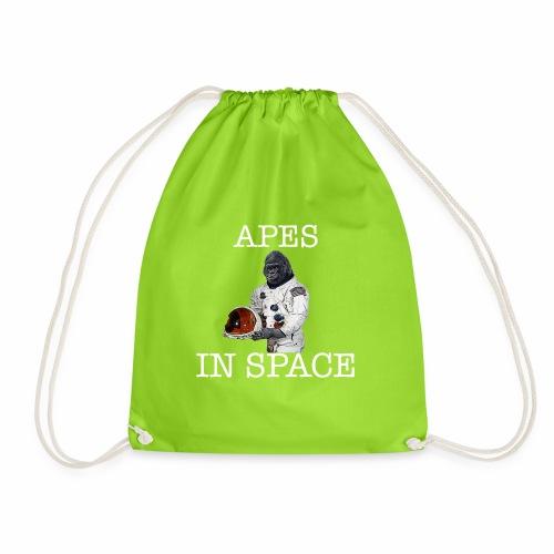 Apes in Space - Drawstring Bag