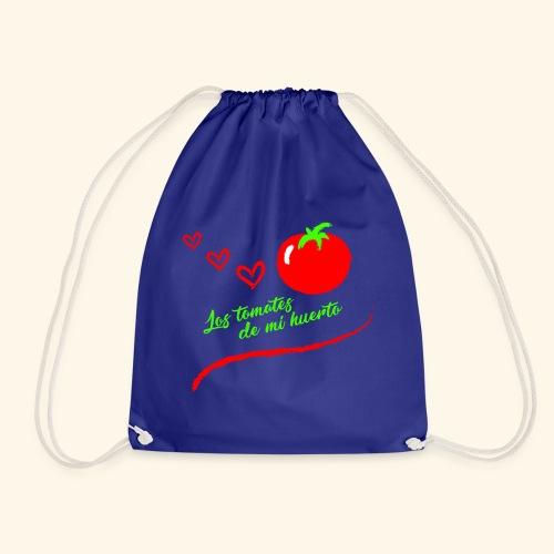 Tomates de mi huerto - Mochila saco