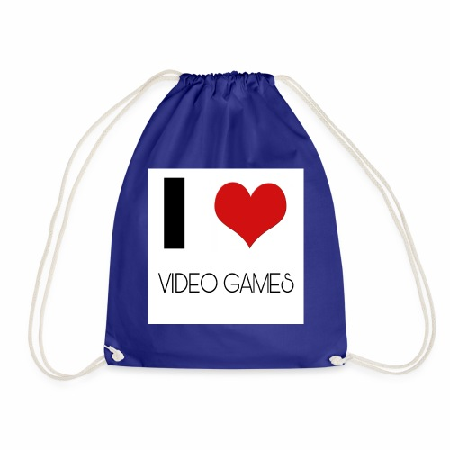 I LOVE VIDEO GAMES - Turnbeutel
