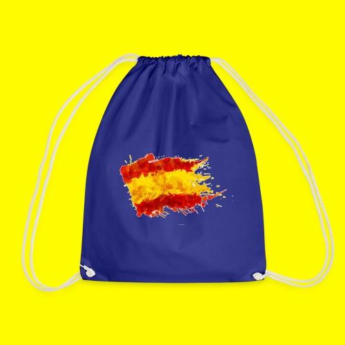 españa bandera trazada - Mochila saco