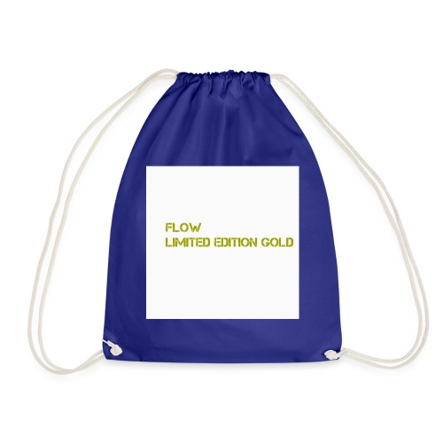 Flow Limited Edition Gold - Drawstring Bag