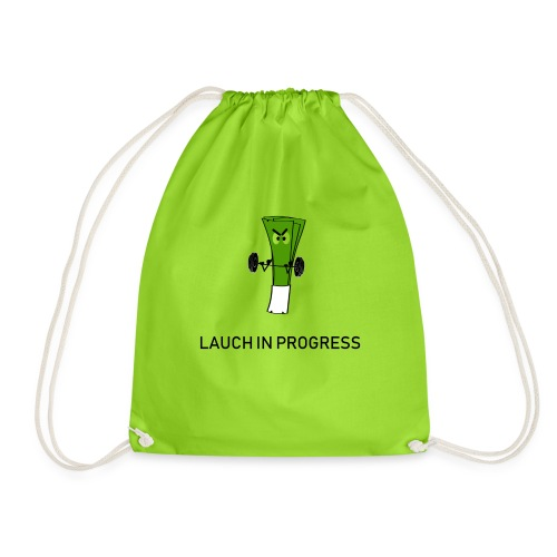 Lauch in Progress T-Shirt Design - Turnbeutel
