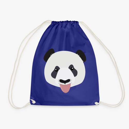 Funny Panda Bear - Drawstring Bag
