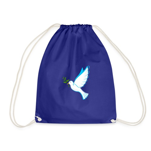 Dove of Peace - Drawstring Bag
