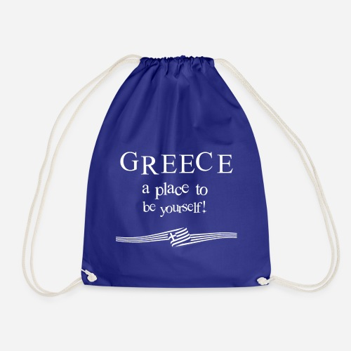 GREECE - a place to be yourself - Turnbeutel