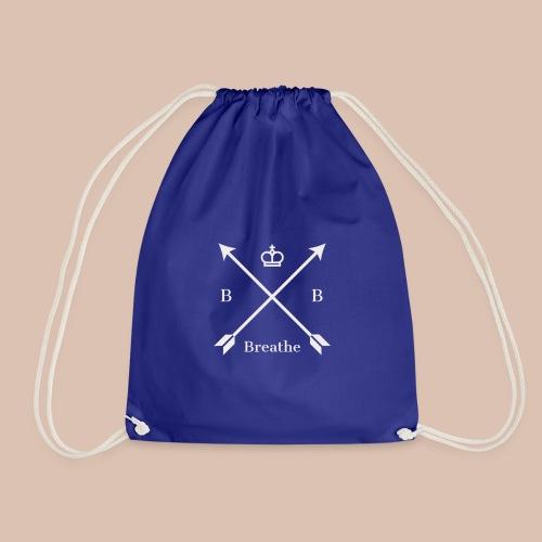 Breathe (Arrow Design) - Drawstring Bag