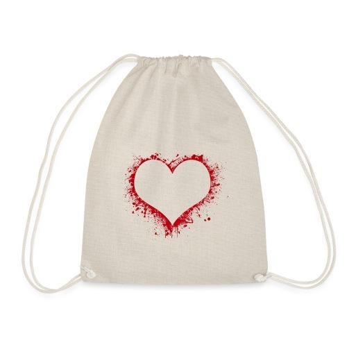 Herz/Heart - Turnbeutel