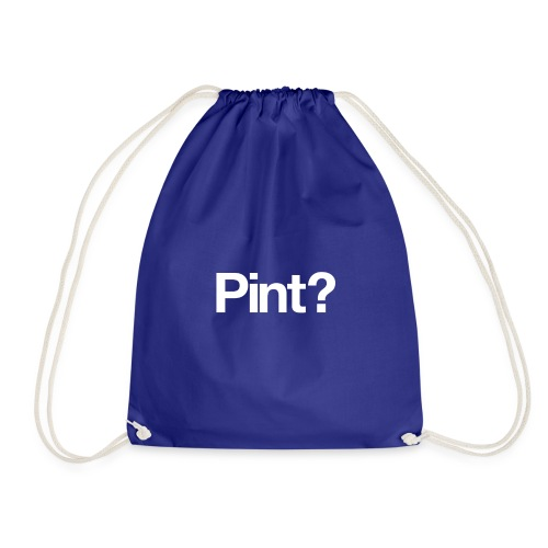 Tee1500 pint 01b - Drawstring Bag