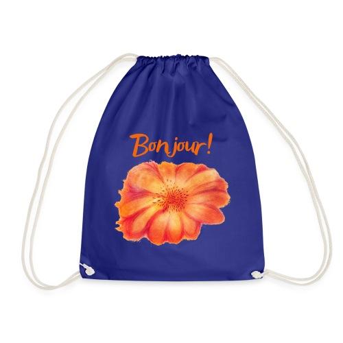 Bonjour ma Fleur Orange Qinspi - Sac de sport léger