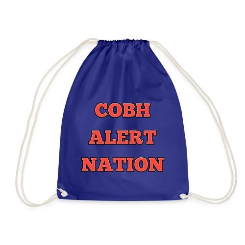 COBH ALERT NATION merchandise - Drawstring Bag