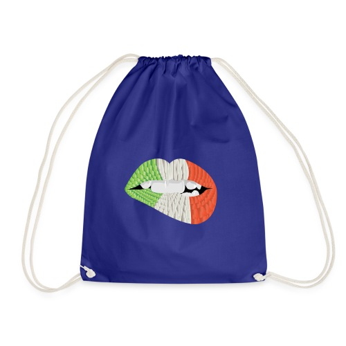 Kiss me I'm Irish - Drawstring Bag