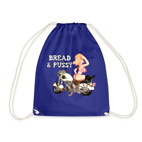 LOGO BREAD AND PUSSY - Sacca sportiva