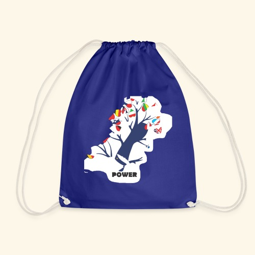 Europe Culture - Drawstring Bag