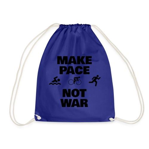 Make Pace Not War Black - Turnbeutel