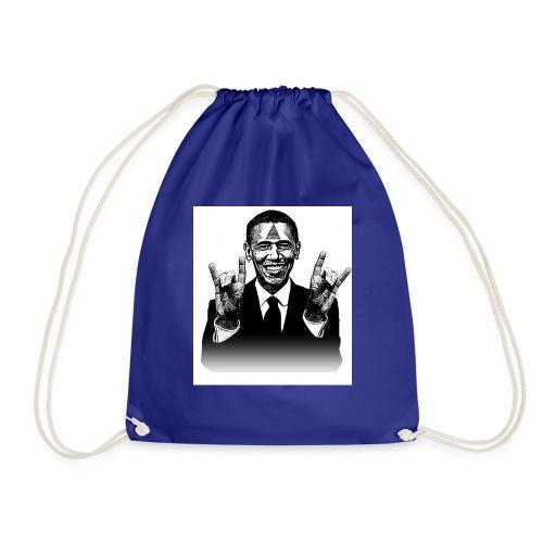 Barack Obama Illuminati - Turnbeutel