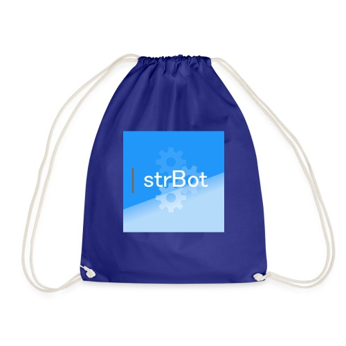 strBot Square - Drawstring Bag