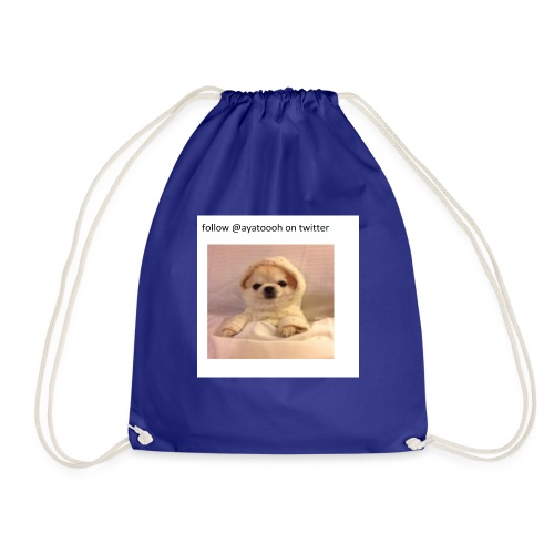 follow ayatooh - Drawstring Bag