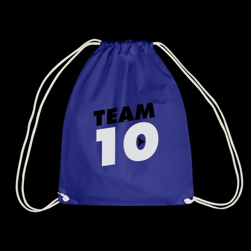 Team10 logo - Drawstring Bag
