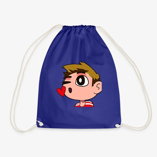 Kiss Design - Drawstring Bag