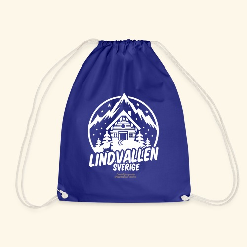 Lindvallen Sälen Sverige Ski Resort T Shirt Design - Turnbeutel