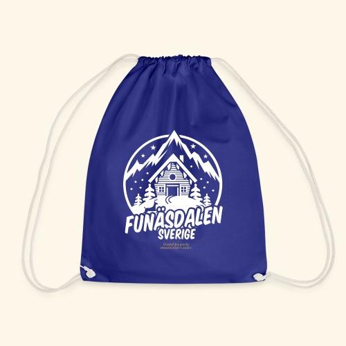 Funäsdalen Sverige Ski Resort T Shirt Design - Turnbeutel