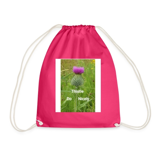 IMG 20180301 221949 Thistle Do Nicely - Drawstring Bag
