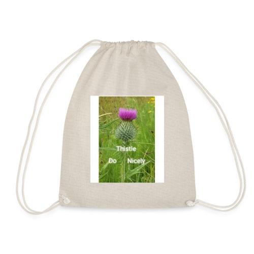 IMG 20180301 221949 Thistle Do Nicely - Drawstring Bag