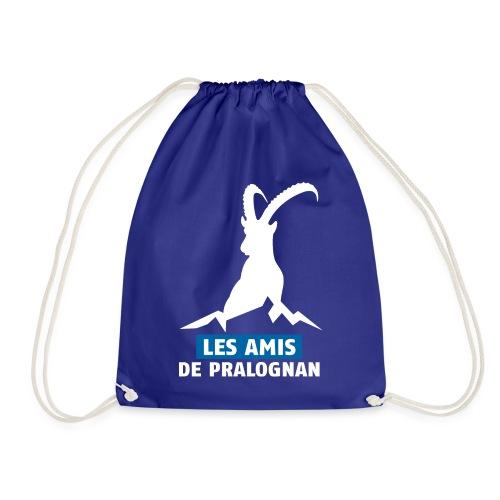 Logo Les Amis de Pralo grand blanc - Sac de sport léger