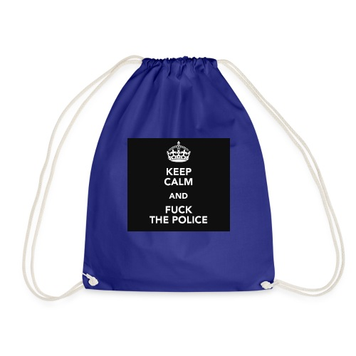 #KeepCalmAndFuckThePolice - Gymnastikpåse
