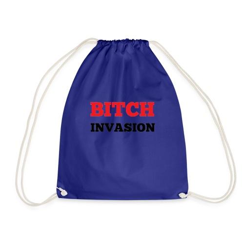 Bitch Invasion - Drawstring Bag