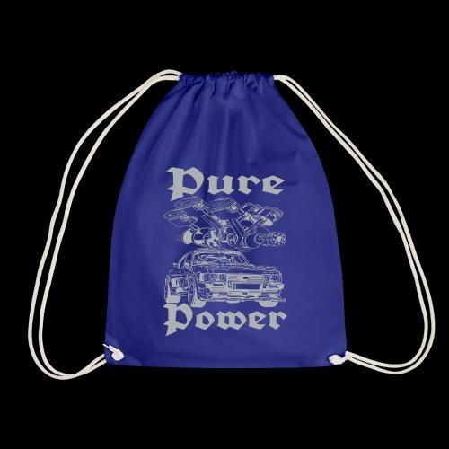 Pure Power V6 Grau - Turnbeutel