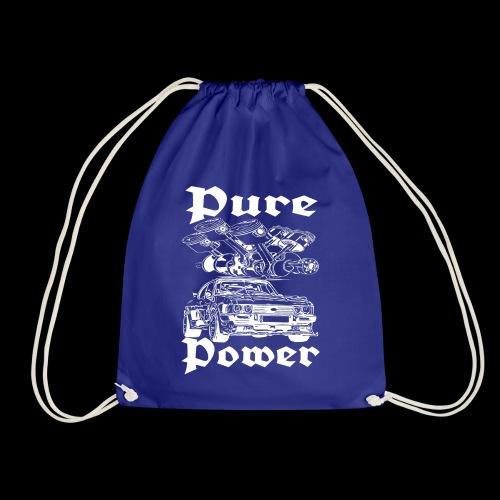 Pure Power V6 Weiß - Turnbeutel