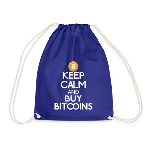 Keep Calm And Buy Bitcoins - Bitcoin Shirts - Turnbeutel