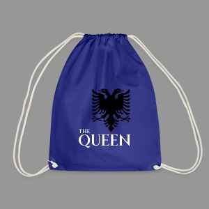 the queen of of albania kosovo albanisch t-shirt - Turnbeutel