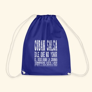 Cuban Salsa- My passion - Drawstring Bag