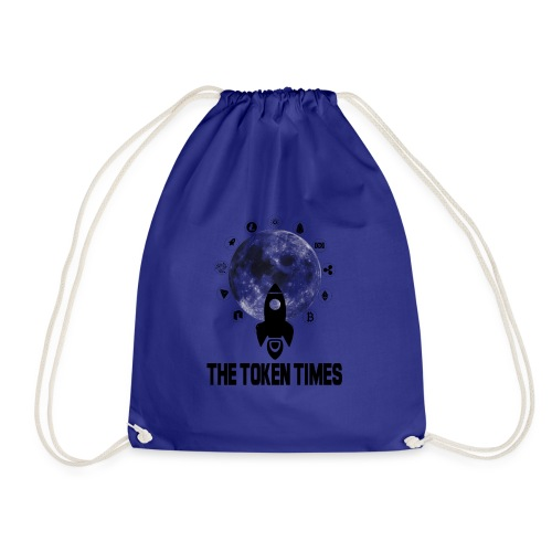 Token Times Logo 1 - Drawstring Bag
