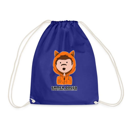 Gamer Doggo Merch - Drawstring Bag