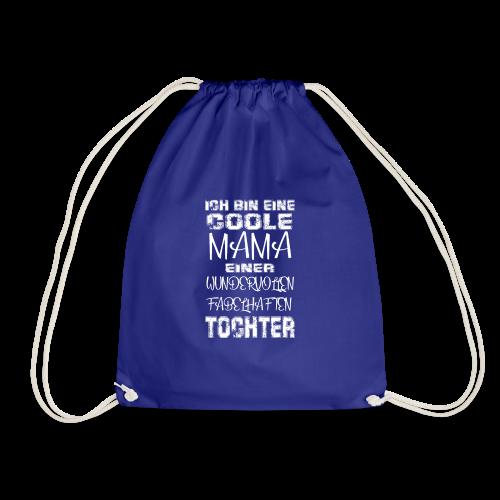 Coole Mama Tochter Geschenk Idee Muttertag - Turnbeutel