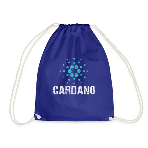 Cardano Ada Logo Cryptos Vintage - Turnbeutel