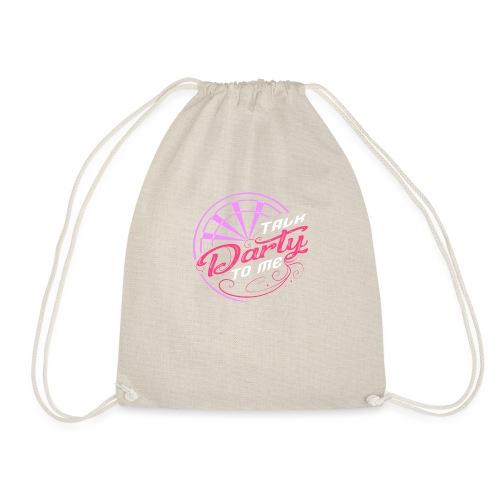 Talk Darty To Me Tee Design gift idea - Drawstring Bag