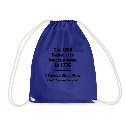 Celebrate your own Independence Day! - Drawstring Bag