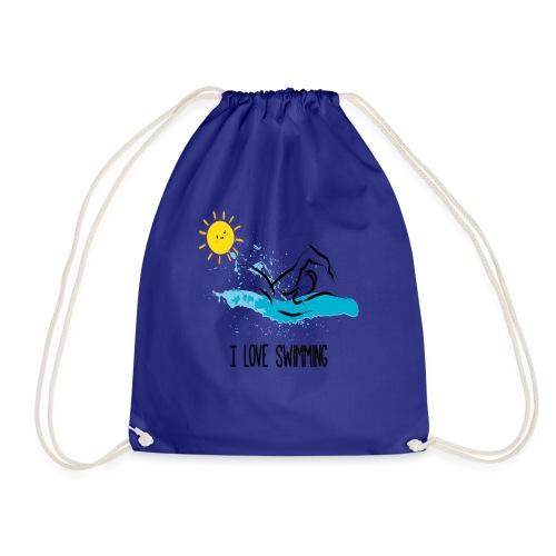 love swimming tchirt - Sac de sport léger