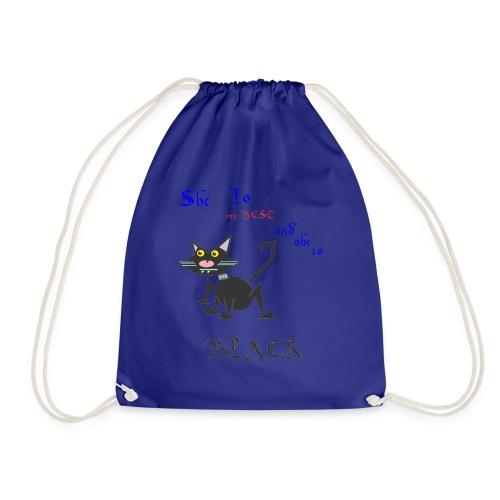 My best cat - Drawstring Bag