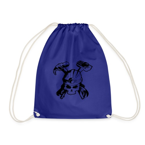 Skull and Crossbones - Drawstring Bag