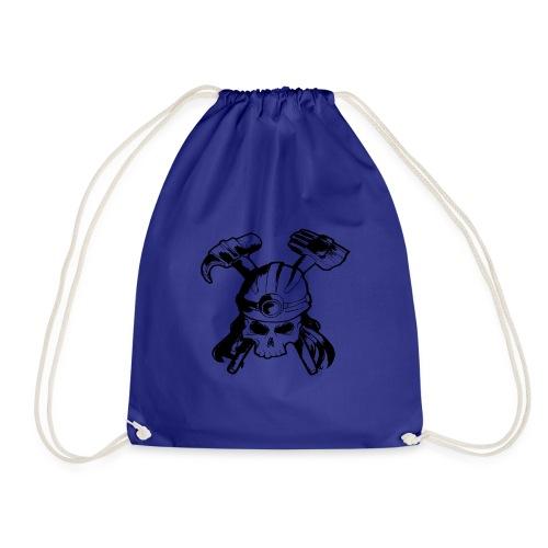 Skull and Crossbones - Drawstring Bag