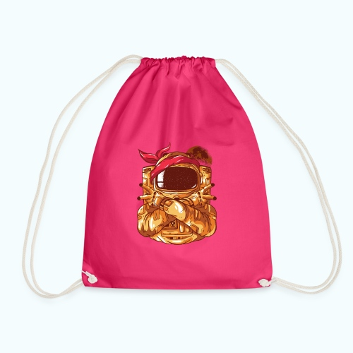 Rebel astronaut - Drawstring Bag