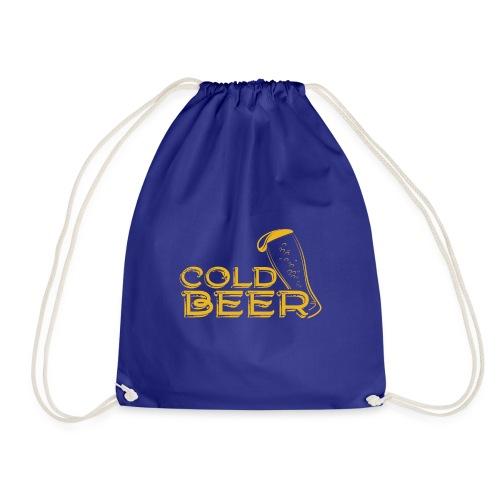 Cold Beer - Turnbeutel