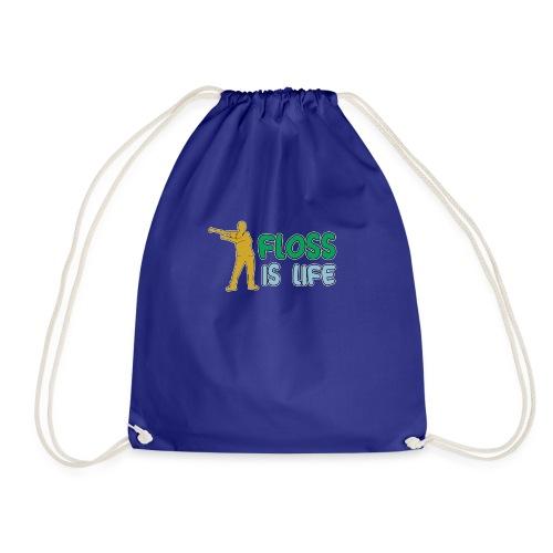 floss is life - Turnbeutel