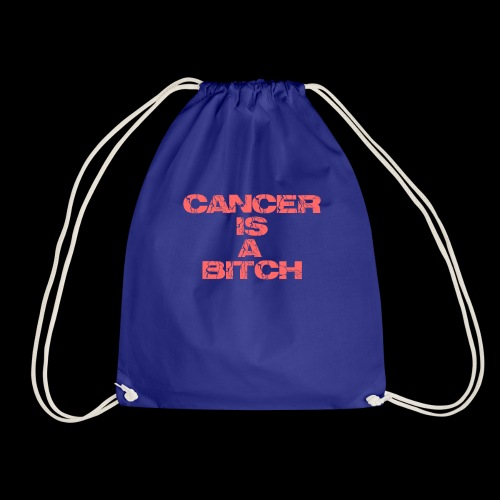 Cancer is a bitch - Turnbeutel