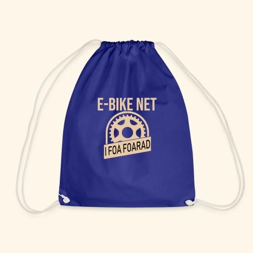 E-Bike Net - I Foar Foarad - Ich fahre Fahrrad - Turnbeutel